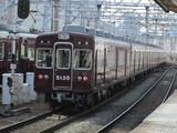 梅田へ向かう5100系