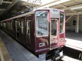 西宮北口駅で乗換えた8000系普通電車