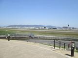 空港が割と至近距離で見渡せる絶好な公園