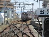 伊丹駅に進入する3000系