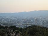 京都タワーを眺める