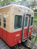 武庫川団地前行ワンマン電車