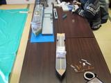 準備の真っ最中な青函桟橋