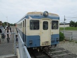 阿字ヶ浦駅に留置中のキハ222