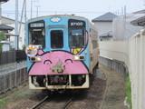 所々茨城交通塗装が残るキハ37100形