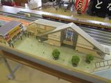 新津駅駅舎