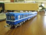 澪つくし色の3000形電車