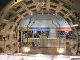 単線シールドトンネルのモックアップ
