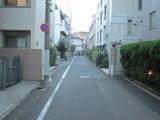 THE住宅街の路地裏