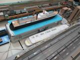 第六青函丸と建造中の連絡船