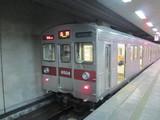 長野駅に到着した普通電車