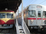 試運転電車と引退車両