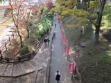 お堀の上田駅方面