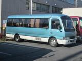 信州観光バスのマイクロバス