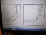 モジュール線路配置プラン図