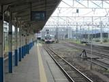 1番線に進入中のワンマン列車
