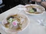 チャーシュー麺大小(手前が小)