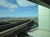 東京モノレールの線路
