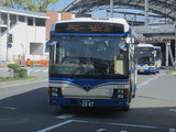 LED字幕が割れてて見えない阪神バス