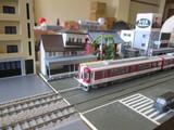 かつての近鉄奈良駅付近を再現?