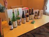 ほぼ日本酒なラインナップ