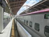 仙台駅と「はやぶさ」103号