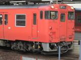 発車間際のキハ47西日本更新車