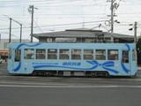 標準的な岡山電気軌道の車体