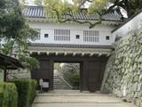 岡山城への入口・廊下門
