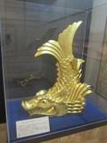 岡山城の金鯱
