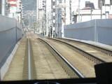 広電天満橋を通過中