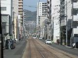 路面電車っぽい通り@広島電鉄