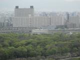 東側大阪メトロ森ノ宮検車場方面