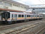 通過待ちのワンマン列車@E129系