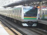 高崎線下り湘南新宿ライン