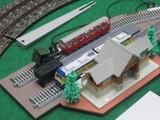 SL編成と電車列車