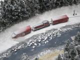 除雪作業してるDD16形
