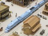 会場一大きな蒸気機関車(仮想機)