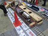 準備作業中のDF200形ディーゼル機関車