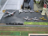 駐機場の自衛隊機