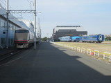 東武特急車と国鉄特急車