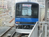引上げ途中の60000系電車
