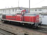 SL回送兼客車営業列車牽引機DE10