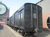 日本現存最古の有蓋緩急車ワフ16