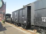 現存最古の木造車体貨車ワ12