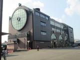 SLの形を模した真岡駅駅舎