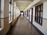 明るい廊下