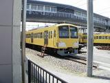 黄色い電車の巣窟