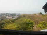 琵琶湖がある方角