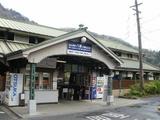 八瀬比叡山口駅舎